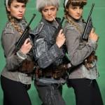 Кара /Габриела/ и Яра /Моника/, Боряна Братоева и Мила Люцканова, снимка ДТП